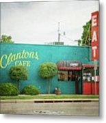 Clanton's Cafe Metal Print