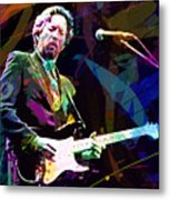 Clapton Live Metal Print by David Lloyd Glover