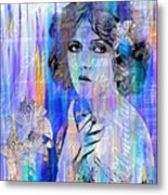 Clara Bow I'll See You In New York Metal Print
