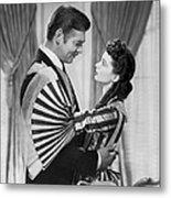 Clark Gable And Vivien Leigh Metal Print