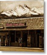 Clarks Old General Store Metal Print