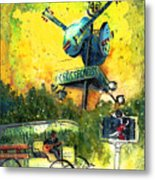 Clarksdale Authentic Madness Metal Print