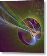 Clash Of Energy Metal Print