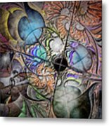 Clash Of The Earthly Elements Metal Print