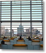 Class In The City Metal Print