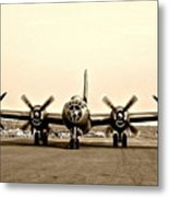 Classic B-29 Bomber Aircraft Metal Print