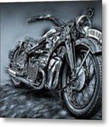 Classic Bike Metal Print