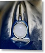 Classic Car Fender And Light Metal Print