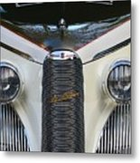 Classic Car Front End Metal Print