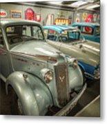 Classic Car Memorabilia Metal Print