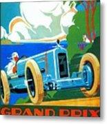 Classic Cars Motor Racing Grand Prix French Riviera 1929  Metal Print