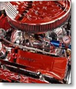 Classic Chevrolet Engine Metal Print