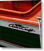 Classic Chris Craft Sea Skiff Metal Print