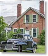 Classic Chrysler 1940s Sedan Metal Print