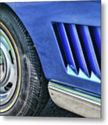 Classic Corvette Mako Shark 1965 Metal Print