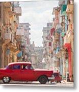 Classic Cuba Car Viii Metal Print