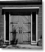 Classic Doors Metal Print