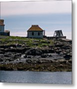 Classic Egg Rock Metal Print