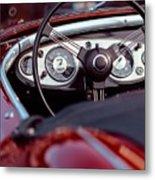 Classic Ford Convertible Interior Metal Print