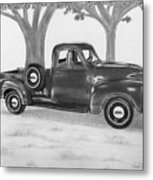 Classic Gmc Truck Metal Print