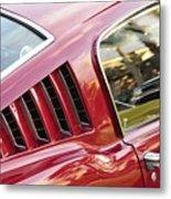 Classic Mustang Fastback Metal Print