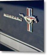 Classic Mustang Logo Closeup Metal Print