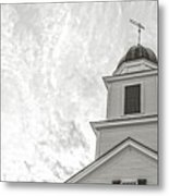 Classic New England Church Etna New Hampshire Metal Print