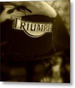 Classic Old Triumph Metal Print