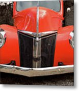 Classic Pick Up Truck Metal Print