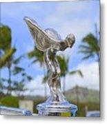 Classic Rolls Royce Hood Ornament Metal Print