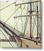 Classic Sail Ship Metal Print