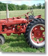 Classic Tractor Metal Print