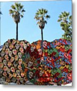 Classic Umbrellas Day Of The Dead  Metal Print