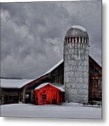 Classic Vermont Barn Metal Print