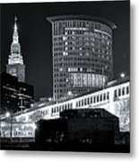 Classic View In Cle Metal Print