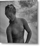 Classic Woman Statue Metal Print