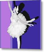 Classical Ballet Metal Print