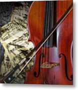 Classical Cello Metal Print