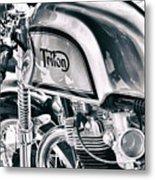 Classical Triton Cafe Racer Metal Print