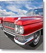 Classy - '64 Cadillac Metal Print