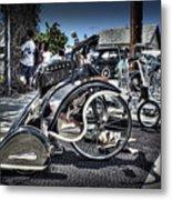 Classy Trike Metal Print