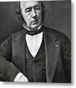 Claude Bernard, French Physiologist Metal Print by Photo Researchers