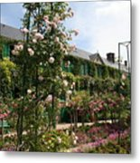 Claude Monets House  - Giverney - France Metal Print