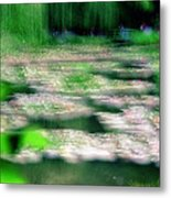 Claude Monets Water Garden Giverny 1 Metal Print