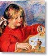 Claude Renoir At Play Sun 1905 Metal Print