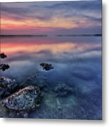 Clear Blue Morning Metal Print