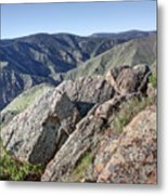 Clear Creek Canyon Metal Print