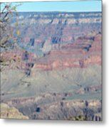 Clear Day At The South Rim Metal Print