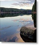 Clear Lake, Oregon Metal Print