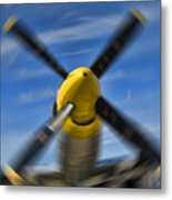 Clear Prop Metal Print by Steven Richardson